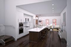 Duane Street Apts. - PH Kitchen
