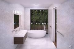 Duane Street Apts. - PH Master Bathroom