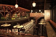Le District-Absinthe Bar - Main Bar Room - Optiong Old