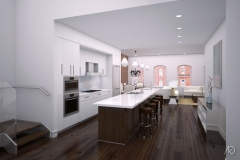 Duane Street Apts. - PH Kitchen