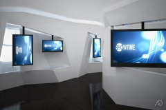 Media Room - Interior View