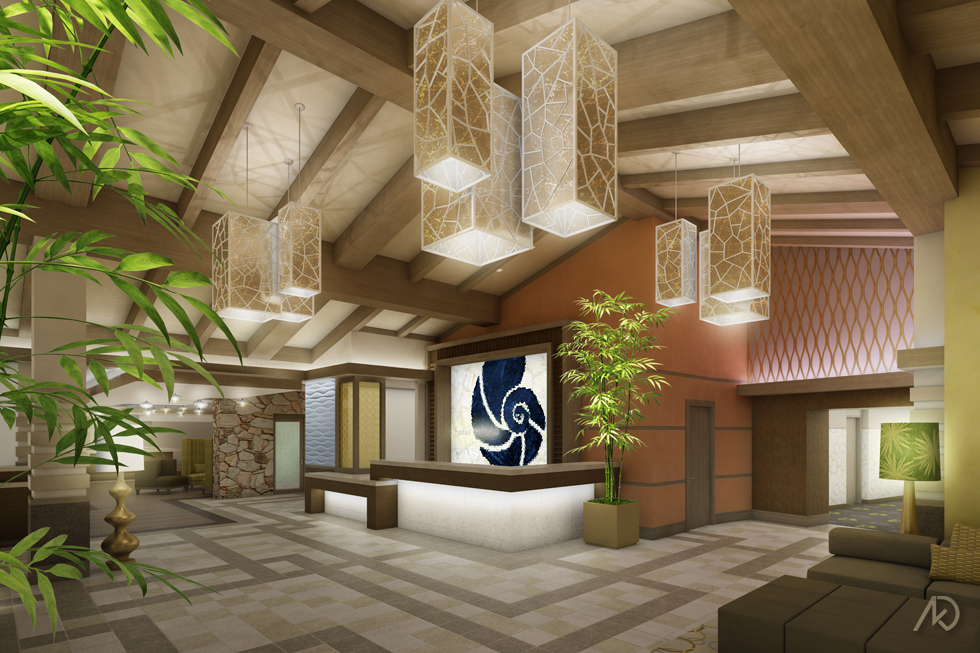 Hotel Indigo - Hotel Lobby