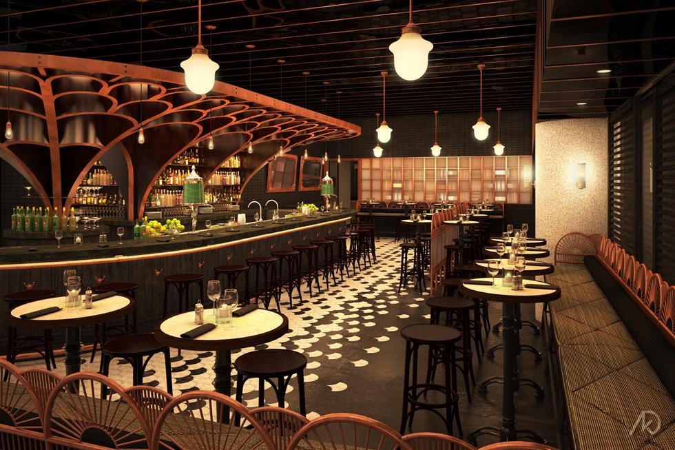 Le District Absinthe Bar - Main Bar Room Option