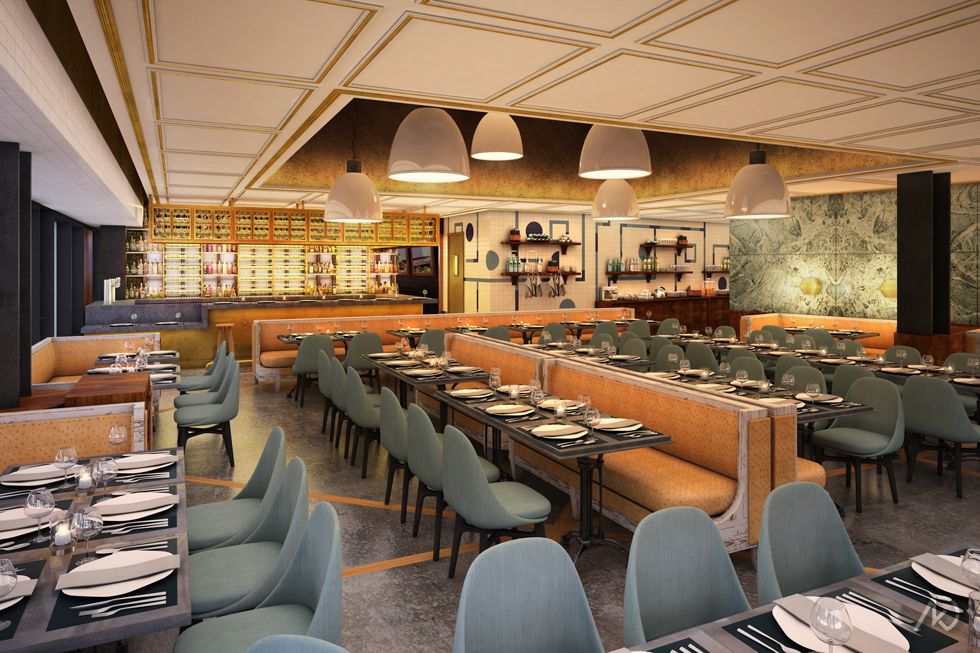 Le District Restaurant - Main Dining Room