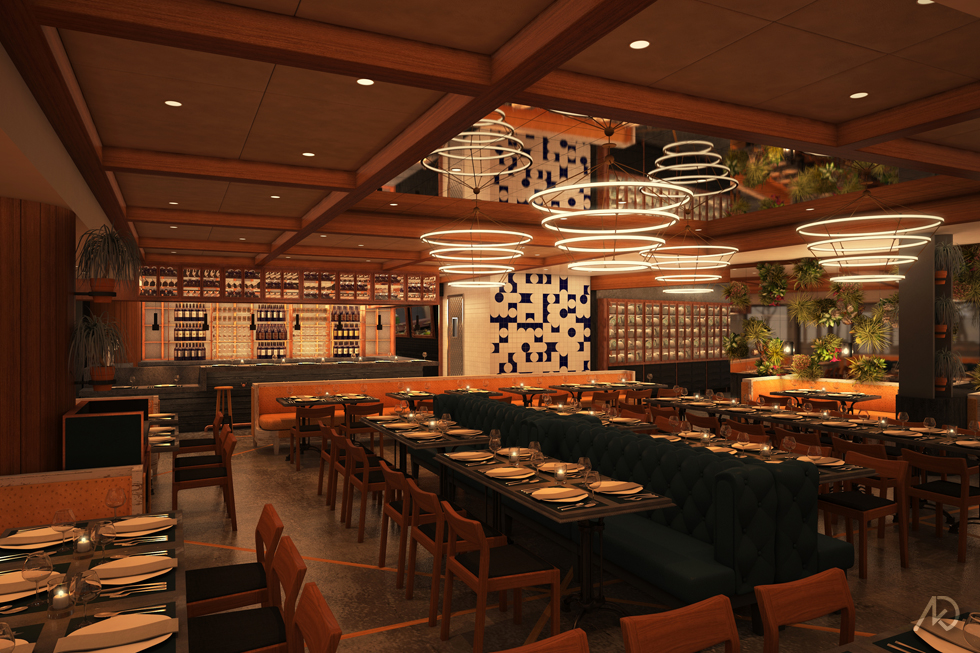Le District Restaurant - Main Dining Room Option