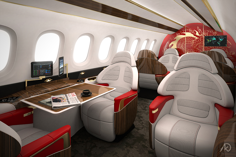 Aerion_Main Cabin_Opt B